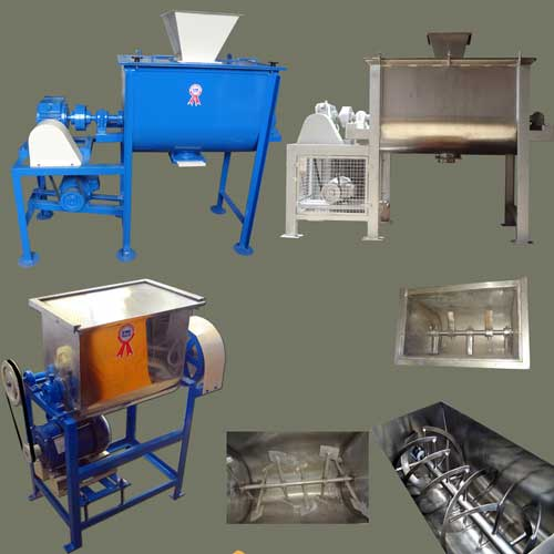 Mixing machinery and blenders